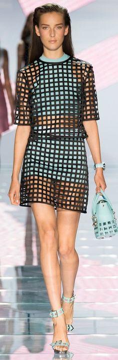 Versace RTW Spring 2015