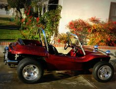 "My Dune Buggy ""Betsy"" I love the metallic paint job!!"