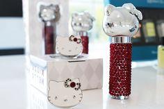 Hello Kitty 40th Anniversary An Apple A Day Trio of Tinted Lip Balms   - Beautygeeks