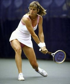 Chris Evert, one of the most accomplished tennis players in history