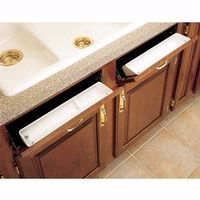 Rockler's tip out sink trays. You add them to your fake-y sink fronts. Yep, ordering one today. I NEED to get those nasty sponges off my sink.