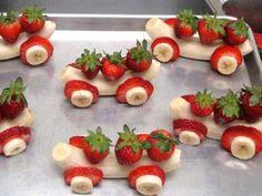 #HealthyFoodies Banana cars are a fun ride. Bon appetit!  #SterlingHospital #Nigdi #StayHealthy