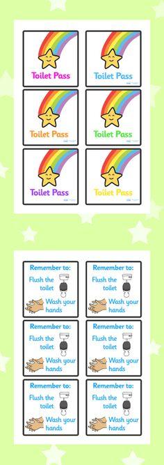 Toilet Passes