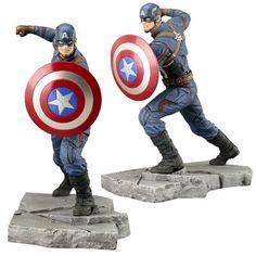 Captain America: Civil War Captain America ArtFX+ Statue