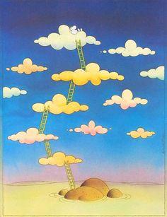 Irancartoon Web Gallery :: The Exhibition of Cartoon / Mordillo / Argentina… Cartoon Kunst, Cartoon Art, Web Gallery, Book Drawing, Humor Grafico, Funny Cartoons, Graphic, Love Art, Comic Strips