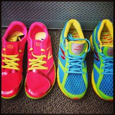 New Balance Minimus + Newton Gravity make us want to get up and go for a run. #SelfMagazine