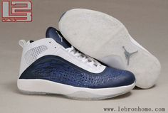 low priced 62aed 256ad Hot Air Jordan Dwyane Wade Chaussures de basket dark Bleu Blanc Jordan  2012, Nike Lebron