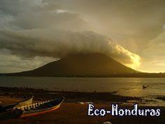 Amapala, Honduras, Bello Atardecer ¡HERMOSO!