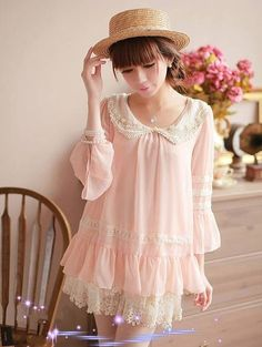 kawaii, asian fashion, cute, style, ulzzang, dress - I now want to be Japanese.......