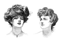 Gibson Girls, by Charles Dana Gibson.