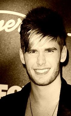 colton dixon...my pick for AI!  Plus I love how he stands up for Jesus!