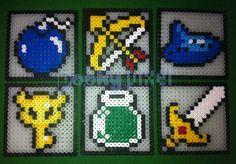 Submission bythestrikeback: Legend of Zelda coasters