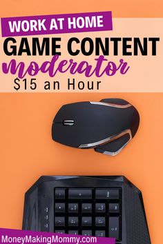 """Love the idea of working from home and you're also looking for a way to make money from home as a gamer? Well --- not exactly a """"gaming"""" job -- you can earn from home working at a game content moderator. This job pays $15 an hour and is a 100% remote position. Learn more about what the job involves and how you can apply. Earn From Home, Make Money From Home, Way To Make Money, Make Money Online, Work From Home Companies, Work From Home Jobs, Home Websites, Successful Business Tips, Legitimate Work From Home"""