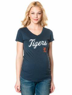 Motherhood Maternity Detroit Tigers MLB Maternity T Shirt