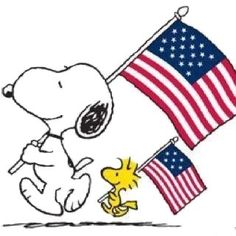 Patriotic Snoopy and Woodstock.Veterans Day is coming. Let's remember who our true heroes are! Peanuts Cartoon, Peanuts Snoopy, Peanuts Comics, Peanuts Characters, Cartoon Characters, Cartoon Art, Charlie Brown Und Snoopy, Snoopy Und Woodstock, Snoopy Pictures