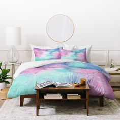 Ink Play Abstract 02 Duvet Cover Viviana Gonzalez
