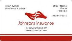2x3.5 Round Corner Insurance Business Card Magnets - Insurance Business Cards Magnets - Insurance Magnets - Shop By Industry