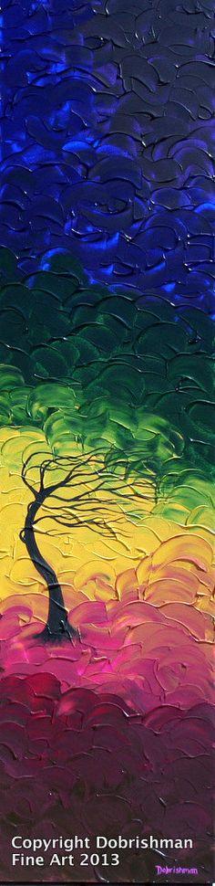 Sleepy Hollow Painting Haunted Tree Artwork Edgar by DobrishmanArt