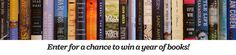 #Win a year's worth of books! #WhereBooksLive | Penguin Random House. Ends 05/31/15