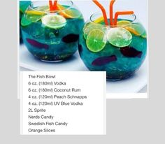 The Fish Bowl # tipsy Bartender