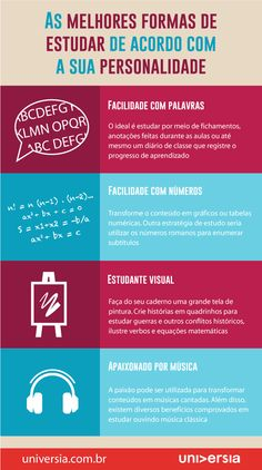 infografico criativo - Pesquisa Google Study Help, Study Tips, School Hacks, I School, School Notes, Learn Portuguese, Study Organization, Teaching Skills, Always Learning