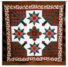 "Jean Binns Smith: ""Carolina Christmas"" - 24 Blocks"