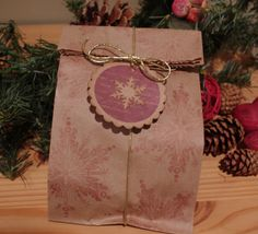 Christmas Goodie Bag Ideas | Christmas Goodie Bag Made From a Lunch Bag