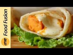 Chicken Cheese Paratha Roll Recipe By Food Fusion - YouTube