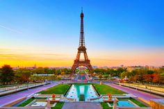Top 10 best places to see in France - Eiffel Tower #travel #paris