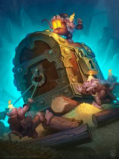 Hearthstone Heroes Of Warcraft Journey To Ungoro Wallpaper Hd