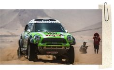 Mini remporte le Dakar 2013