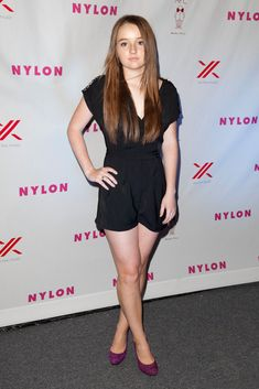 Actress Kaitlyn Dever attends the NYLON And Sony X Headphones September TV Issue Party at Mr. C Beverly Hills on September 2012 in Beverly Hills, California. Lea Michele, Molly Ephraim Hot, Girl Celebrities, Celebs, Katherine Moennig, Celebrity Boots, Celebrity Women, Sony, Kaitlyn Dever
