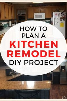 If yoú're thinking of a DIY kitchen remodel project you'll want to make sure you have a plan. Check out these tips for a kitchen renovation to make sure have everything covered in your budget. #diy #kitchen #remodel Average Kitchen Remodel Cost, Kitchen Renovation Cost, Cheap Kitchen Remodel, Interior Design And Remodeling, Shaker Style Cabinets, Budget Home Decorating, Diy Home Improvement, Kitchen Styling, Cool Kitchens