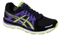 I want these shoes to match my Maleficent running shirt. Womens ASICS GEL-Neo33 Running Shoe