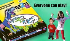 Teachers -- As your students are coming back to the classroom -- Exercise their minds and their Bodies!  Flip2BFit and Bakari - Fitness in a Box.
