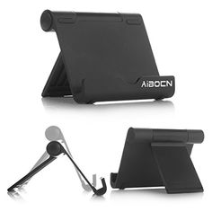 Here are the best prices for Aibocn Multi-Angle Aluminum Stand for Smartphones Tablets E-readers fits iPhone 6 Plus 5 iPad Air Mini Samsung Galaxy Edge Note 5 4 3 / Tab Nexus Lumia HTC OnePlus and More (Black) Tech Gadgets, Cool Gadgets, Cell Phone Stand, Samsung Galaxy S3, Ipad Air, Best Brand, Smartphone, Mini, Note 5