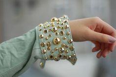 Make cuffs that look like bracelets