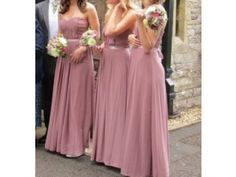 dusky pink Dusky Pink Bridesmaid Dresses, Dusky Pink Weddings, Mauve Wedding, Pink Wedding Theme, Vintage Wedding Theme, Wedding Scene, Fall Wedding Colors, Dream Wedding, Bridesmaids And Groomsmen