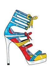 Spring 2010 Shoes Sketches | Find the Latest News on Spring 2010 Shoes Sketches at Eclectic Jewelry and Fashion