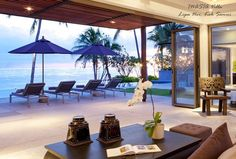 INASIA Villa (Lipa Noi, Koh #Samui) is adored by modern families who enjoy privacy and space, located directly on a soft white sand beach which is excellent swimming and #snorkeling.