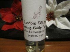 Toning body spray. Starting at $1 on Tophatter.com!