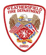 Weathersfield Township Fire Department Patch