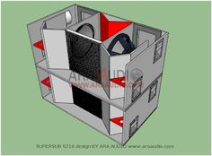 √ Skema box SUPERSUB S218 subwoofer 18 inch mantap | ARA AUDIO Woofer Speaker, Monitor Speakers, Diy Speakers, Subwoofer Box Design, Speaker Box Design, Sub Box Design, Audio Box, Building A Workbench, Loudspeaker Enclosure