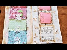 Junk Journal ~ Using Up Book Pages Ep 39 ~ Easy Triple Car Trunk Flip Ups! :) To add to your Junk Journals! All Paper, How To Make Paper, Paper Art, Paper Crafts, Book Page Crafts, Paper Pocket, Car Trunk, Junk Journal, Journal Art