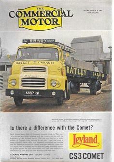 Leyland Semi Trucks, Old Trucks, Retro Cars, Vintage Cars, Classic Trucks, Classic Cars, Old Lorries, Van Car, Cab Over