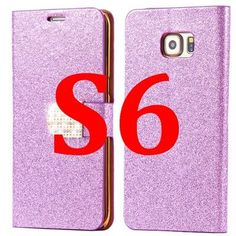 For Galaxy S6 Edge Plus Cases Fashion Women Crystal Diamond Flip Leather Phone Cover For Samsung Galaxy S6 S6 Edge S6 Edge Plus