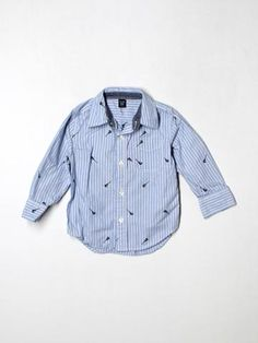 Boys Size 2 Baby Gap Long Sleeve Button Down - thredUP
