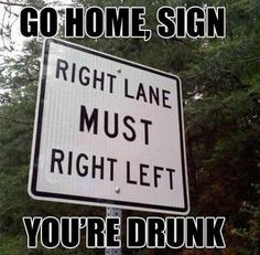 lol...how does these get made and put on roads..to confuse the late night drunks? ok