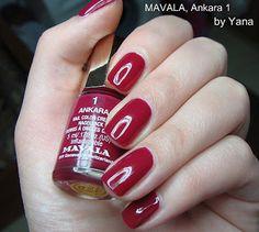 Ankara Nailpolish by Mavala. You deserve it! ;-)