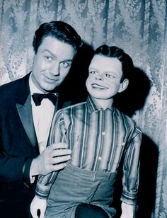 """The Twilight Zone — Cliff Robertson in """"The Dummy"""" aired on Friday, May 4, 1962 on CBS."""